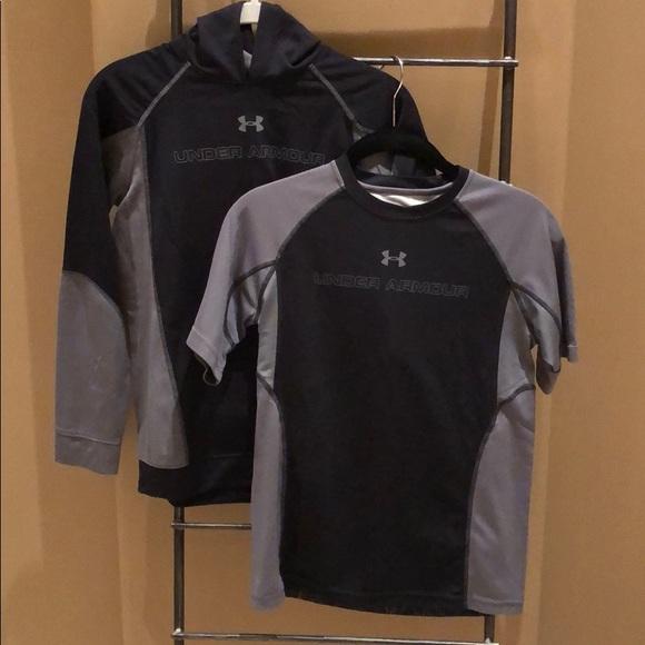 Under Armour Other - UA Shirt and Sweatshirt Set